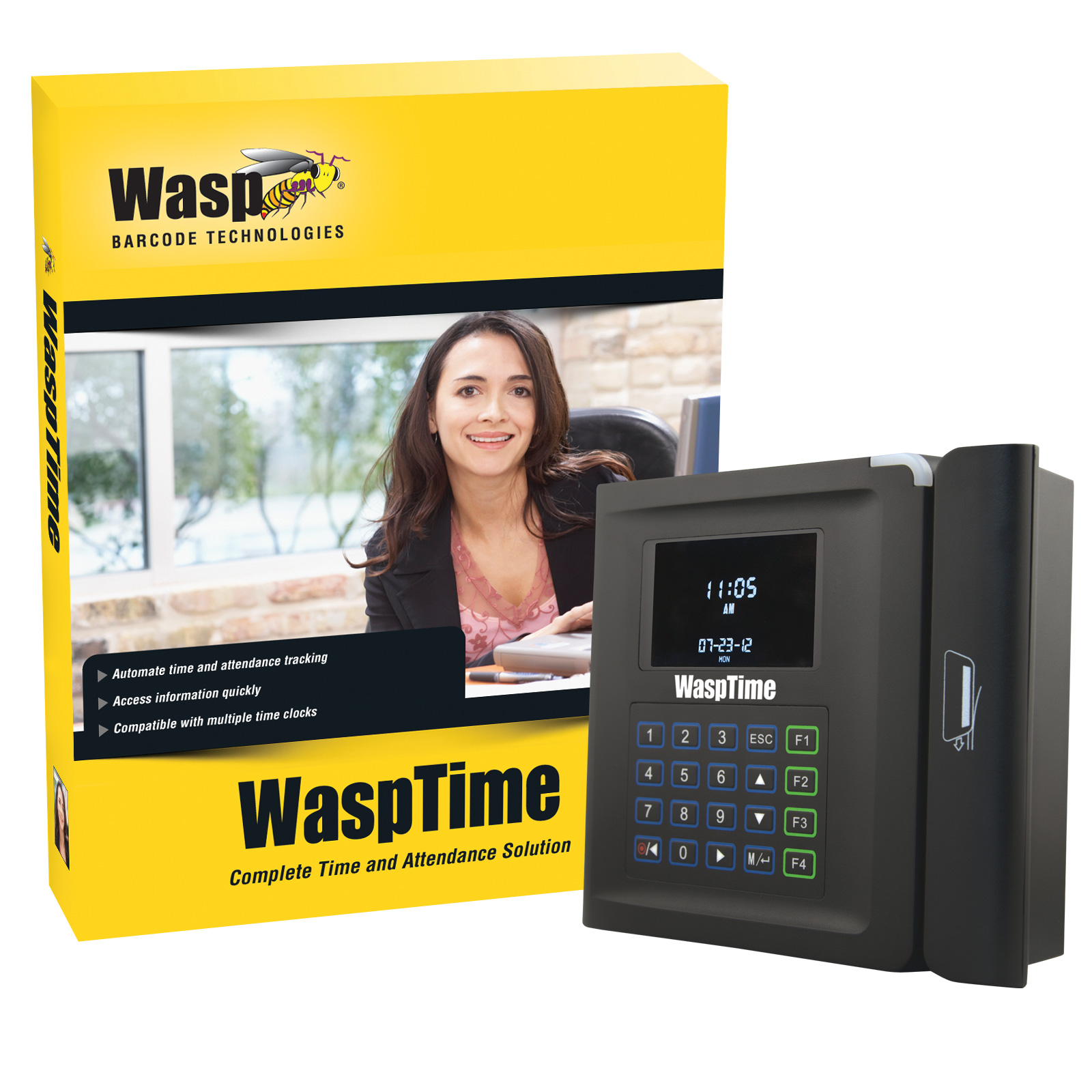 633808550004 Wasptime Time Amp Attendance Software