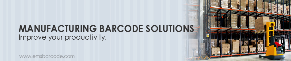Manufacturing Barcode Solutions