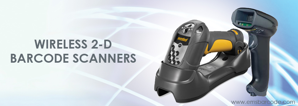 Wireless 2-D Barcode Scanner