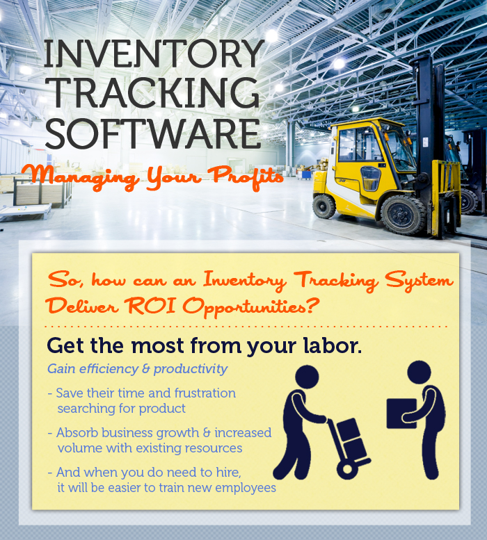 Inventory Tracking Software Infographic