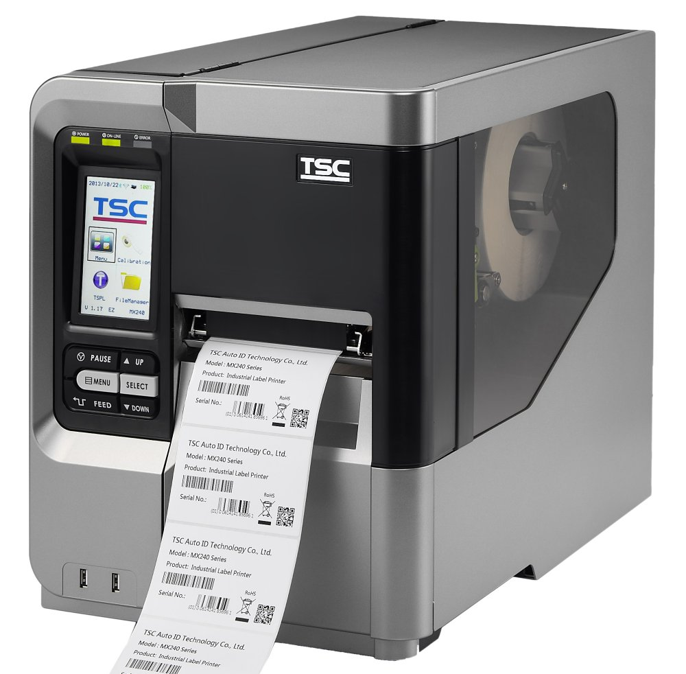 TSC MX240 Industrial Printer Series