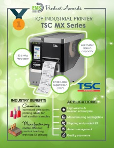 TSC MX240 Industrial Printer Series - Infographic